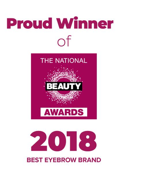 Beauty Award winner for Best Eyebrow Brand logo