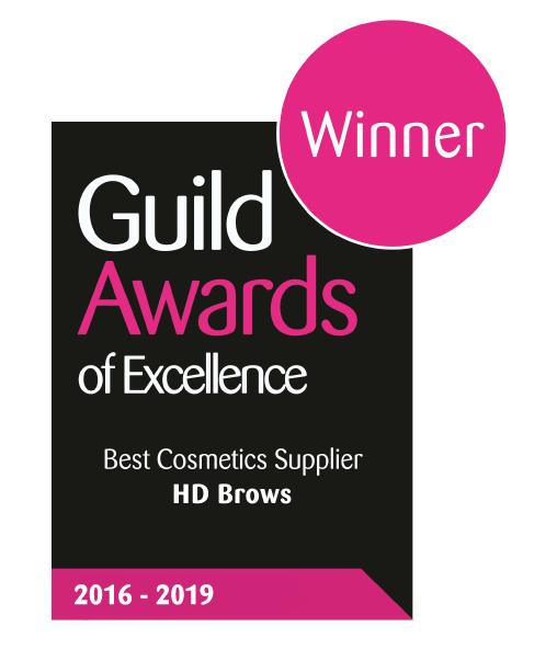 Guild Award for Best Cosmetics Supplier 4 years running logo