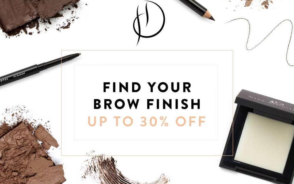 Find Your Brow Finish