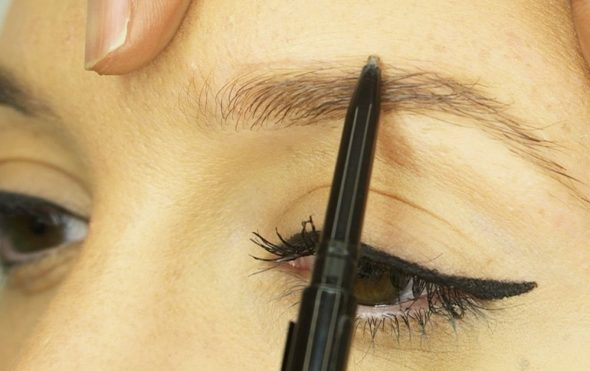 Finishing school, soft defined brow