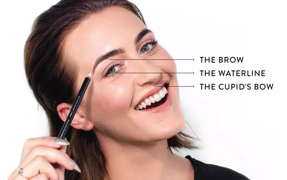 3 ways to use the HD Brows Brow highlighter