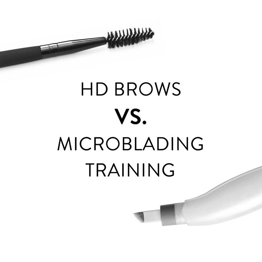 Hd Brows Vs Microblading Training Whats The Difference Hd
