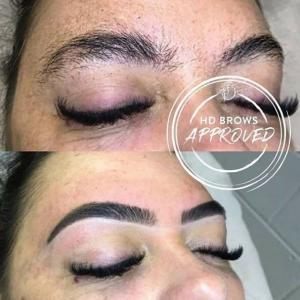 HD Brows Before & After Photo
