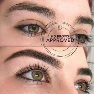 HD Brows Before and After Photo