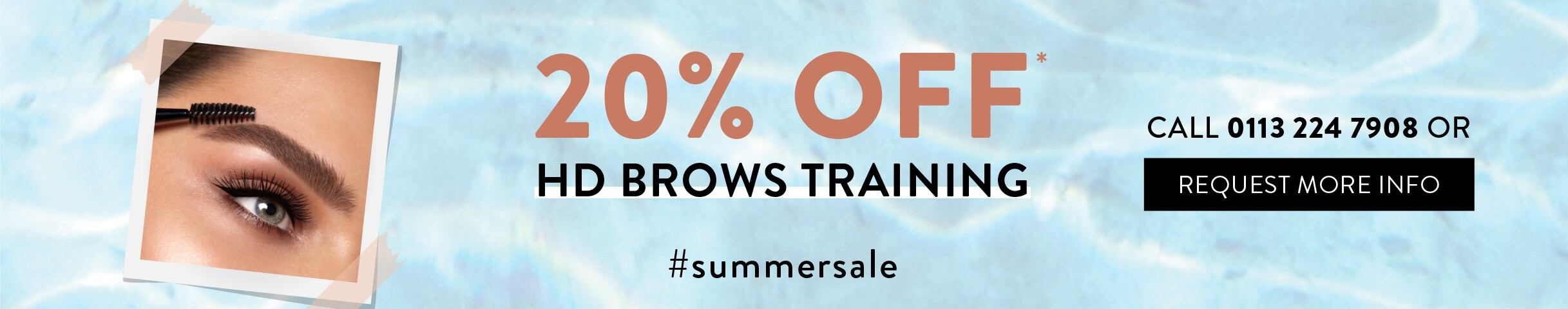20% off HD Brows Training