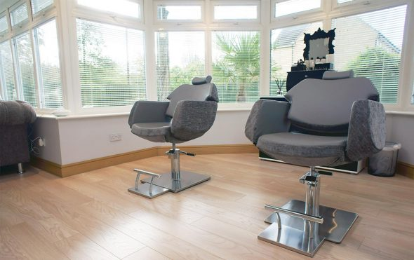 How i set up my home salon