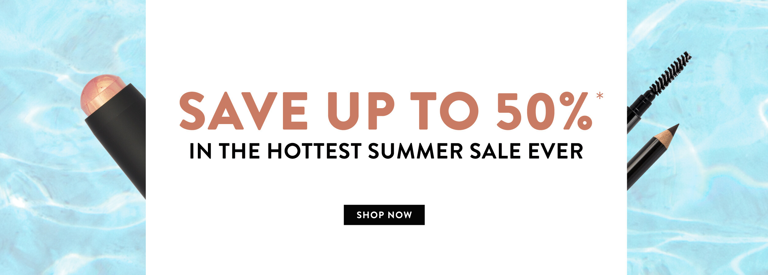 Save up to 50% in our Summer sale