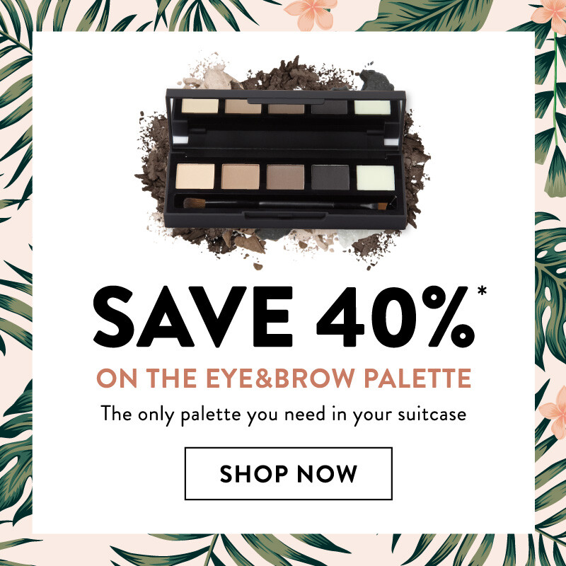 Save 40% on our eye and brow palette