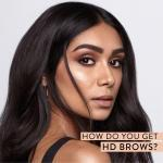 Model with HD Brows