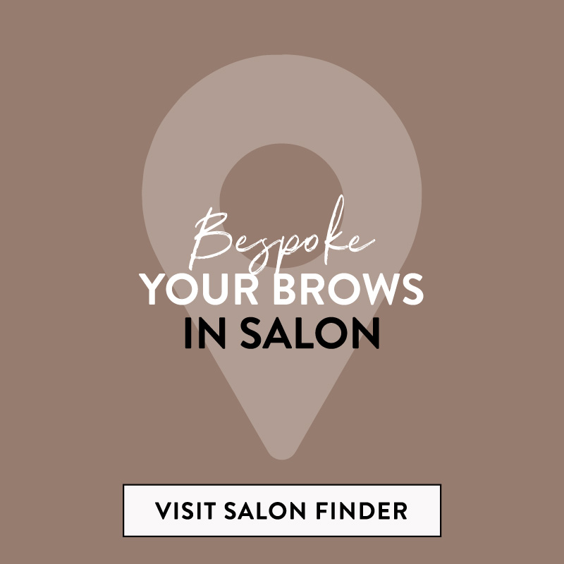 Bespoke your brows in Salon