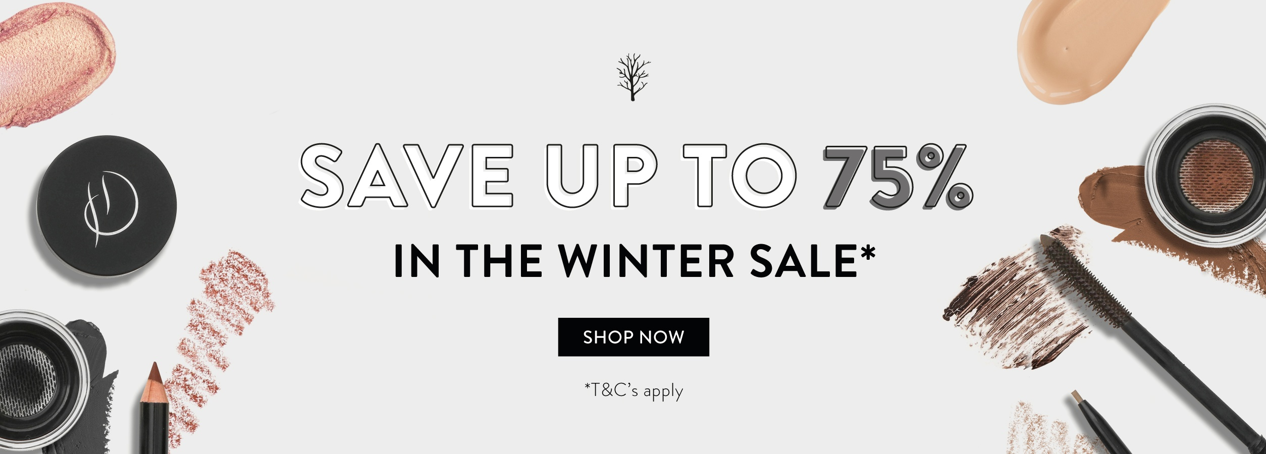 Up to 75% off in our Winter Sale