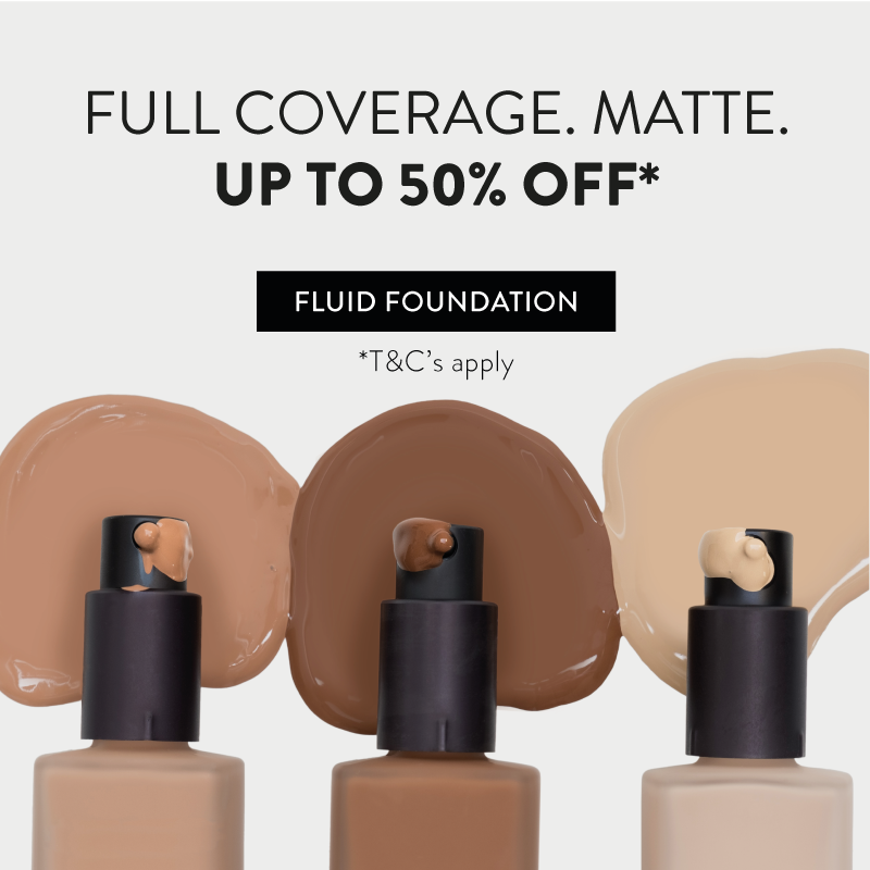 Up to 50% off foundation