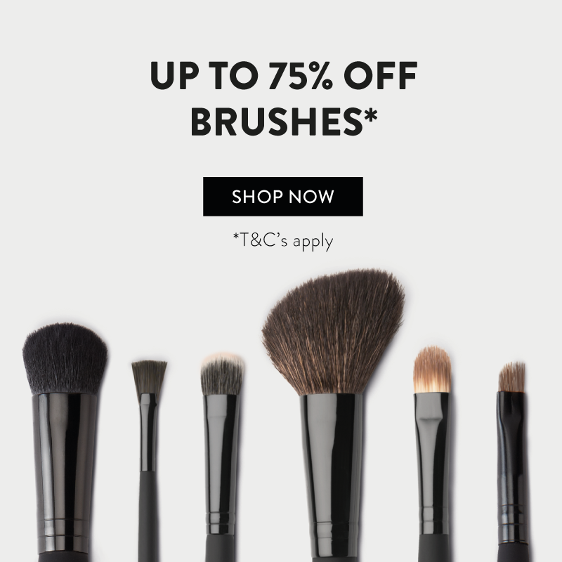 Up to 75% off brushes