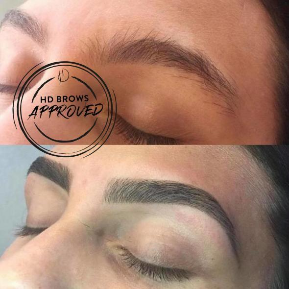 HD Brows Before & After