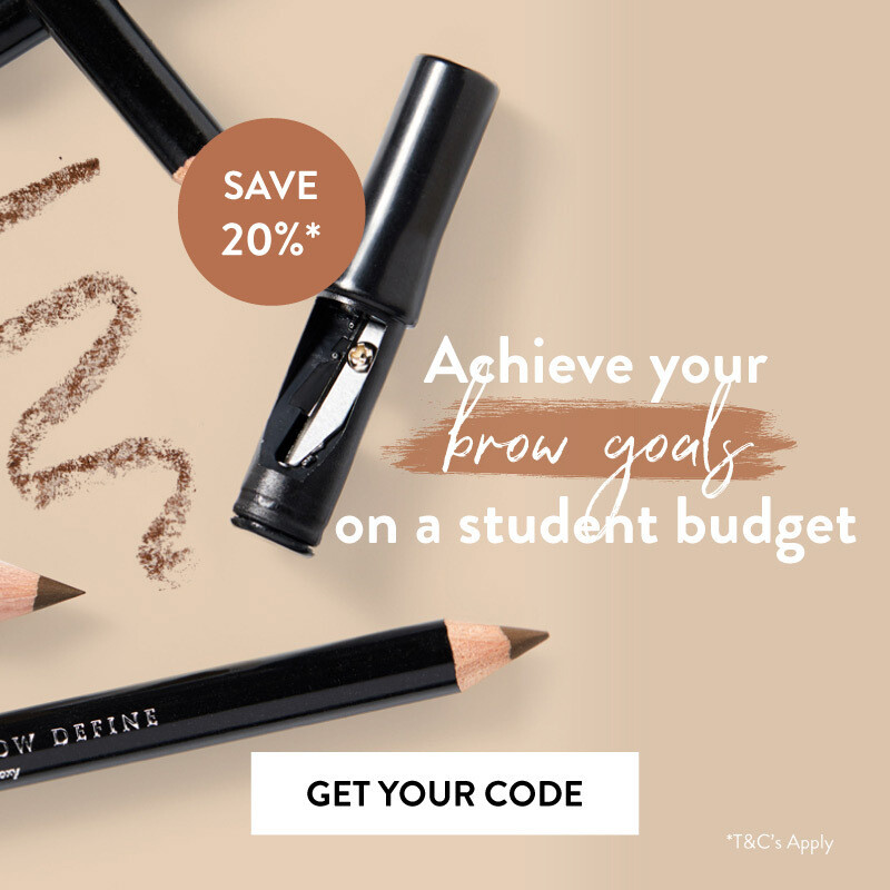 Brow goals on a student budget