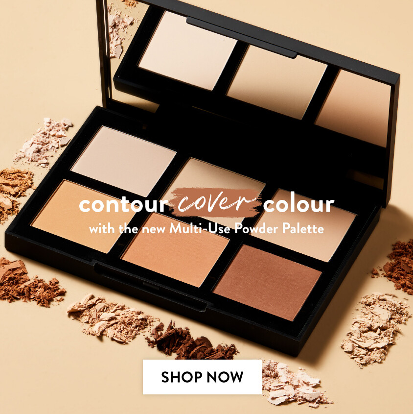 ... Find your brow finish. Multi-use powder palette