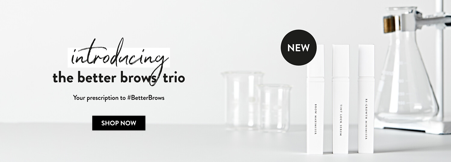 Introducing the better brows trio