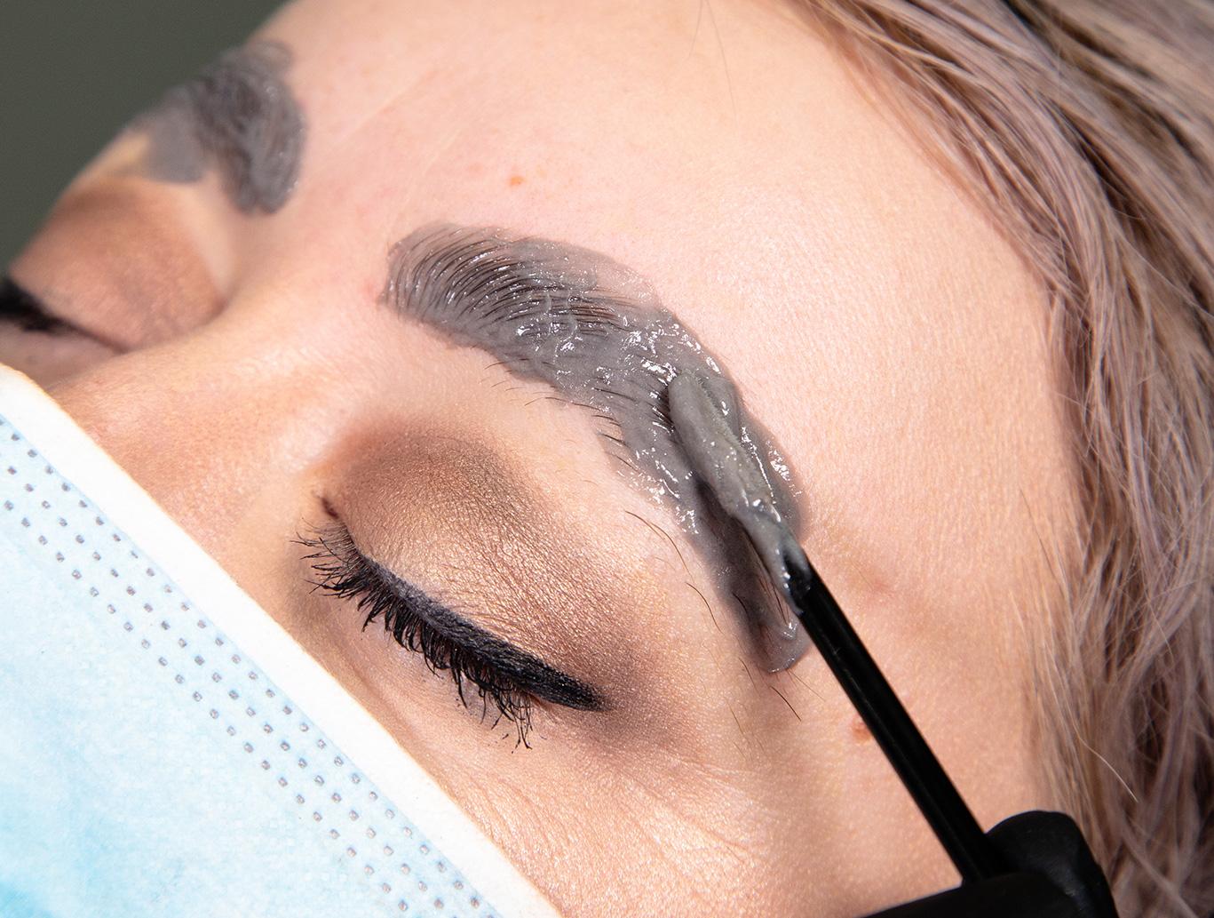 eyebrow tint last longer
